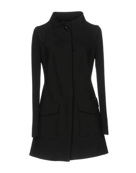 In Lius Closet Mcqueen by Liu Jo Overcoats Black Modesens