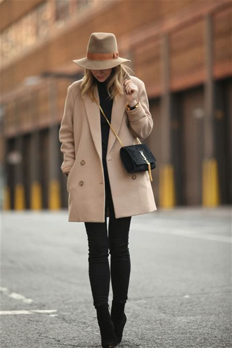 Fashion Perspective Model Debate Its Not All Fashions Fault Second City Style Fashion by Hat Bag Camel Coat Winter