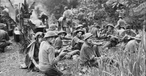 national archives of australia ww2 section australian soldiers on the kokoda track new guinea wwii