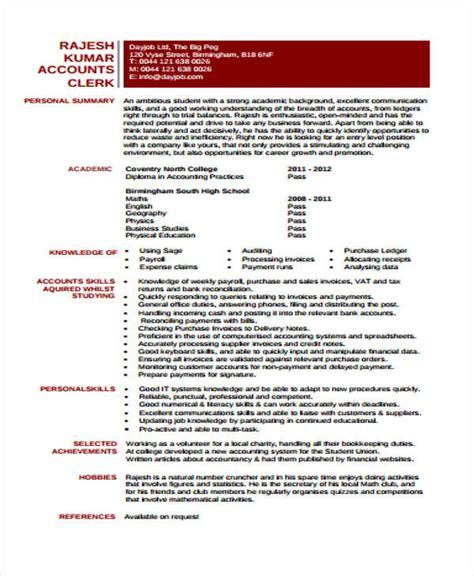 31 free accountant resumes