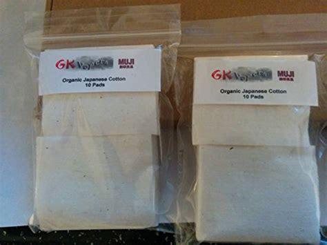 Muji Cotton 5cm X 6 Cm 5pad gk vapers muji cotton 100 organic japanese cotton pads vaping rda with thrum scissors