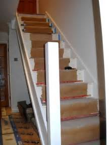 Fitting A Handrail On Stairs fitting a stair rail a more decor