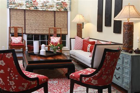 asian inspired home traditional family room other