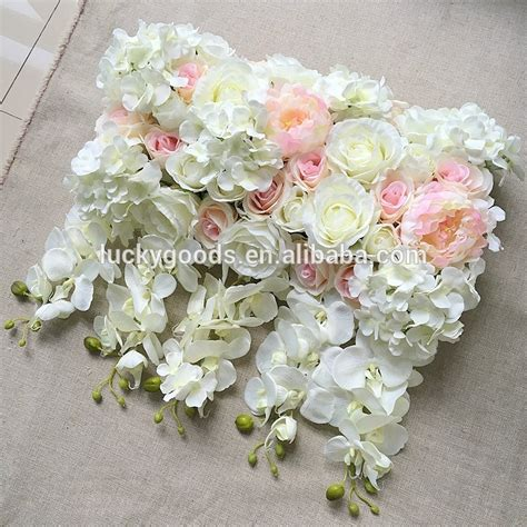 Wedding Arch Wholesale by Factory Sale Shape And Hydrangea White Wedding