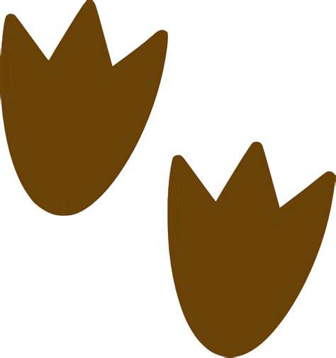 brown dino print clip art  clkercom vector clip art