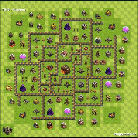 layout cv 8 zuado centro da vila nivel 10 melhor layout clash of clans dicas