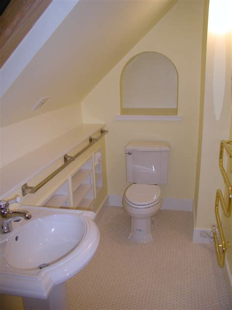 small attic bathroom ideas don t feel bad about that small bathroom notes from the