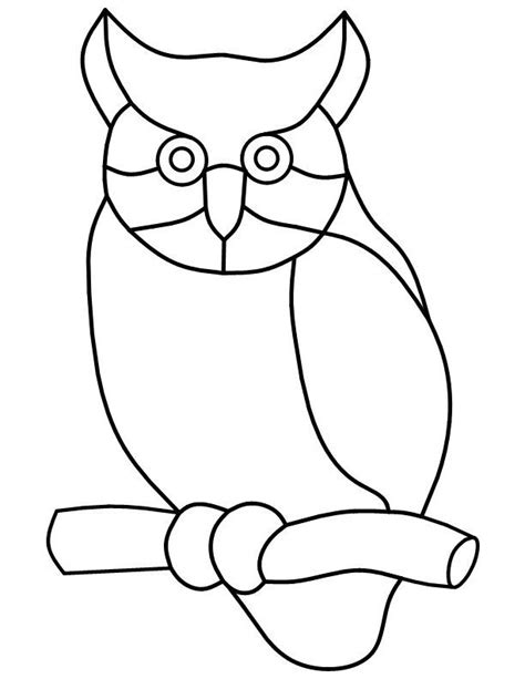 owl mosaic coloring page 17 best images about mosaic stained glass birds on