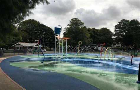 victoria park splash pad  welsh mum