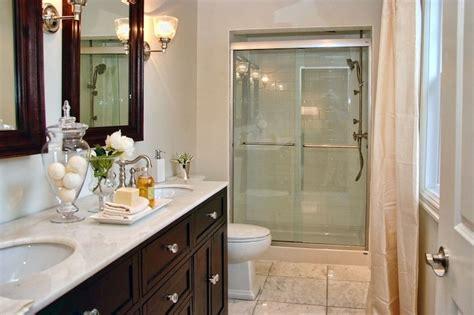 espresso vanity traditional bathroom decor