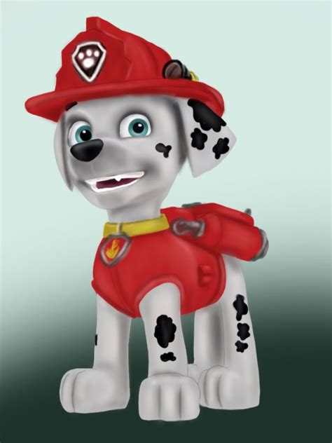 paw patrol characters paw patrol marshall and paw patrol badge learn how to draw marshall from paw patrol paw patrol