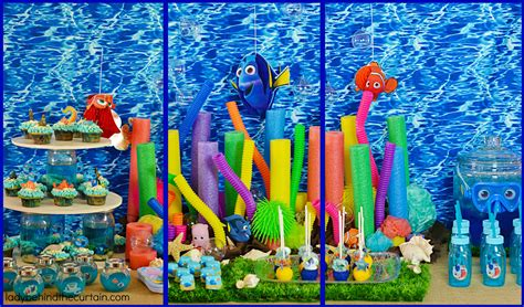 Bathroom Decorations Ideas by Finding Dory Party Ideas