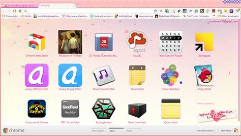facebook themes skins google chrome google chrome theme skin little miss fangirl