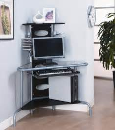 Space Saver Corner Computer Desk Space Saving Corner Desk To Utilize Corner My Office Ideas