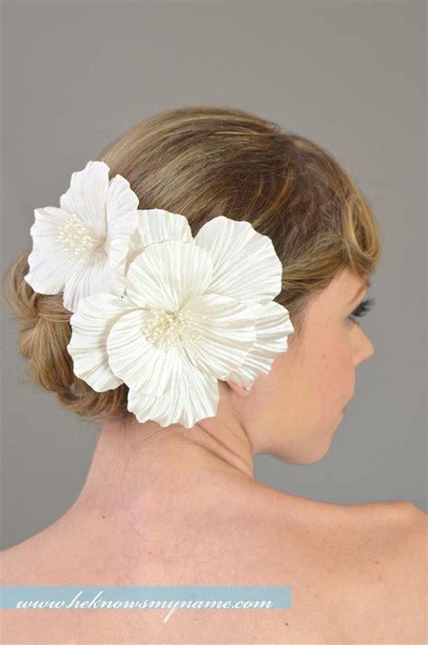 wedding hair flowers silk bridal hair flowers wedding hair accessories silk hair