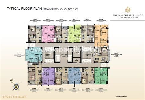 Executive Tower B Floor Plan One Manchester Place Megaworld S Newest Condo In Mactan