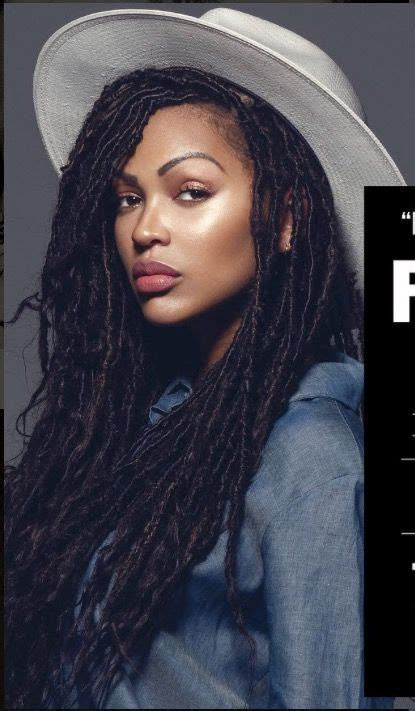 meagan good for goddess faux locs caign bellanaija january2016 chycvrter dreadlocks pinterest beautiful locks et