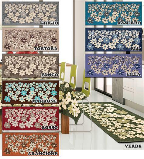 tappeto passatoia cucina tappeto cucina in 6 misure 6 colori passatoia tappetino