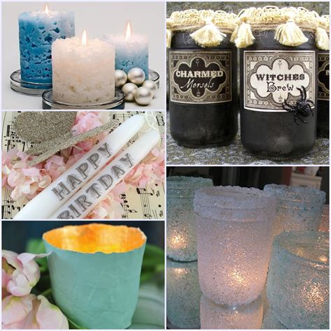 unique candles 14 unique candles and candle holder diys
