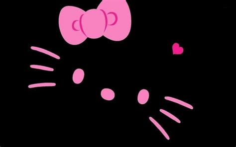 wallpaper black pink pink and black hello kitty backgrounds wallpaper cave