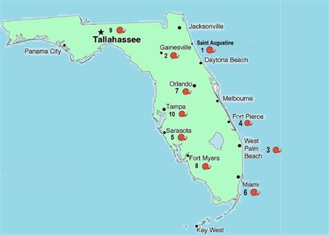 Florida by Blank Images For Colouring New Calendar Template Site