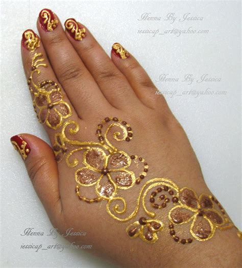 glitter henna henna