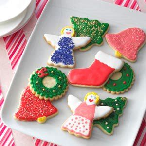 decorated sugar cookie cutouts recipe taste of home