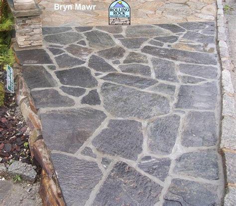 irregular flagstone patio flagstone patio pinterest