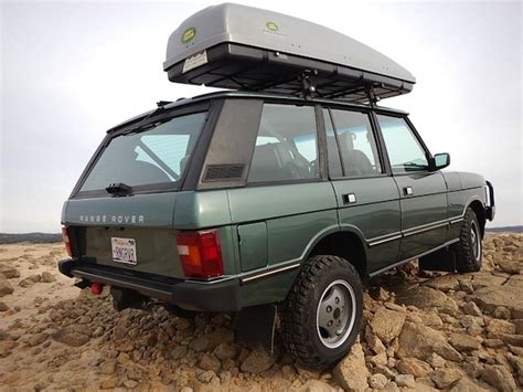 range rover classic green bat exclusive the pilot s 1 owner 1988 range rover
