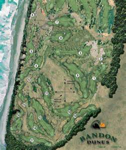 oregon golf courses map bandon images