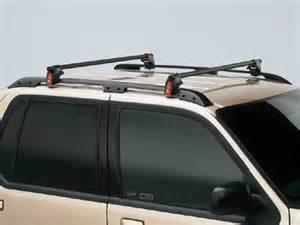 Ford Explorer Roof Rack Cross Bars 2001 Ford Explorer Sport Raised Cross Bars By Yakima F68z