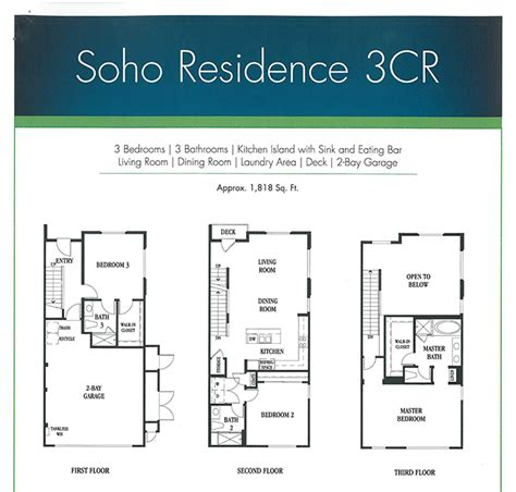 Residence Floor Plan residence 3 floor plan in gem residences beautifully