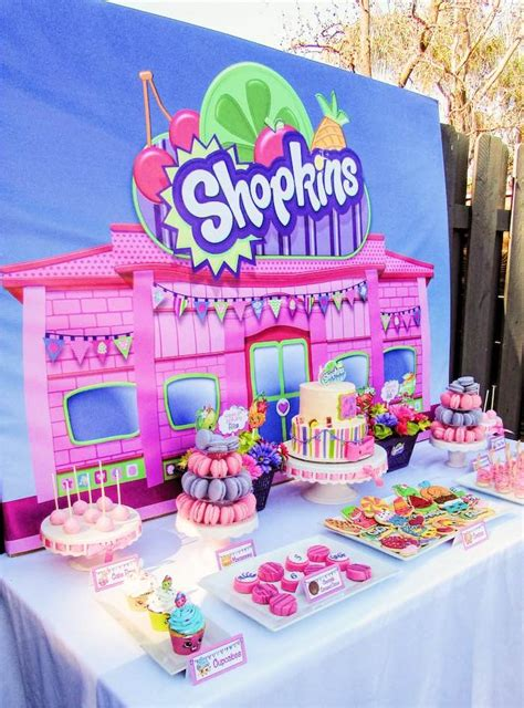 themed birthdays ideas kara s party ideas colorful shopkins birthday party kara