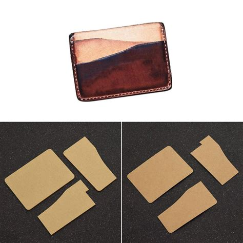 card holder template diy card holder template leather craft wallet mould tool