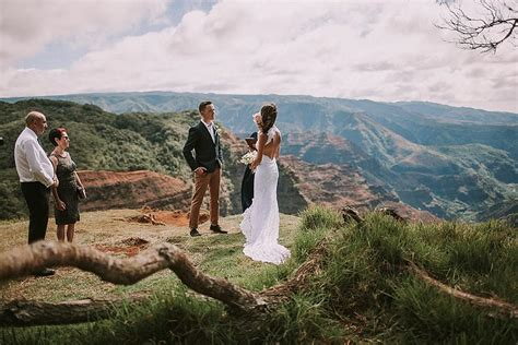 Jeneile   Bill   Waimea Canyon, Kauai Elopement Part I