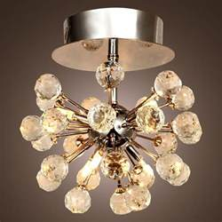Ceiling Chandeliers Modern Contemporary Flush Mount Chandelier Ceiling