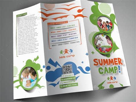 Summer C Brochure Template Free 20 brochure psds for school education desiznworld