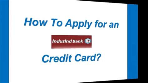 Letter Of Credit Indusind Bank How To Apply For An Indusind Bank Credit Card