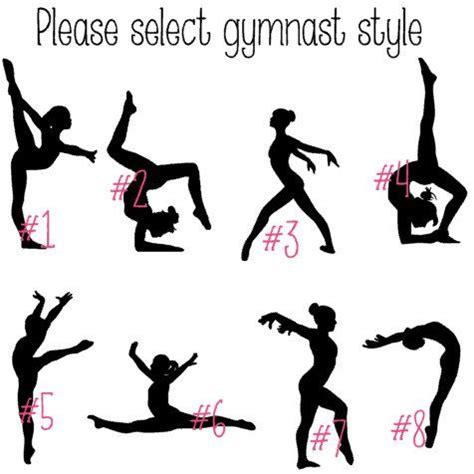 alphabet gymnastics challenge gymnastics iron on decal gymnast decal glitter iron on