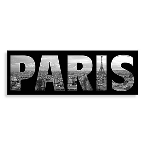 bed bath and beyond wall art buy paris wall art from bed bath beyond