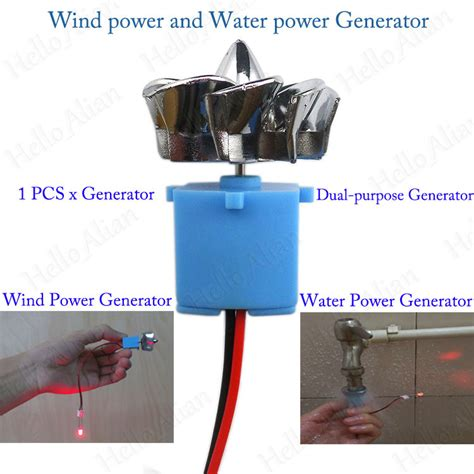 led display mini wind turbines hydroelectric power