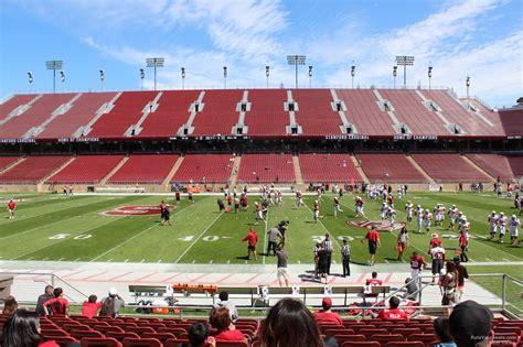 stanford stadium seating stanford stadium stanford seating guide rateyourseats