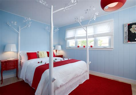 bedroom design red carpet colin justin viewing interiors