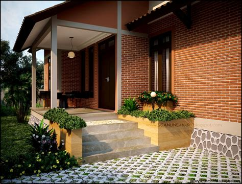 desain teras depan rumah kecil teras rumah depan gallery taman minimalis