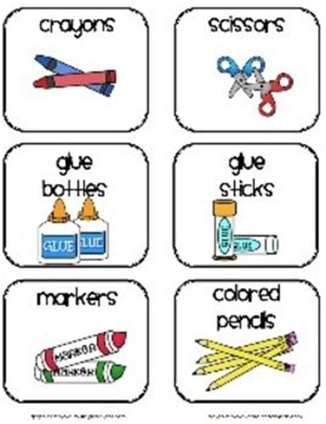 printable stickers for kindergarten this pdf document contains labels to use with common
