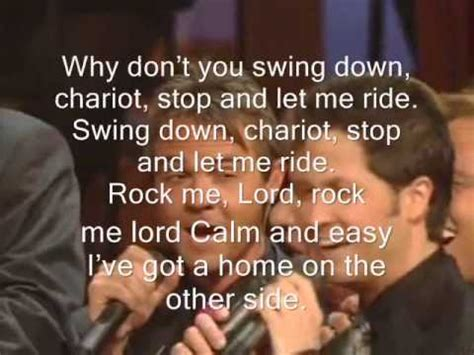 swing down chariot lyrics swing down chariot lyrics by pacatang s family youtube