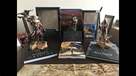 assassins creed origins collectors 0744018617 assassin s creed origins gods collectors edition youtube