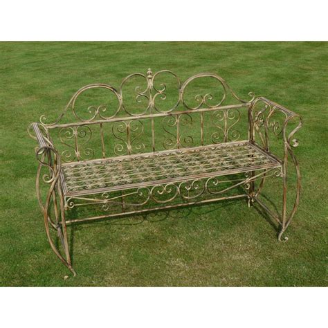 vintage outdoor bench outdoor bench in vintage style swanky interiors