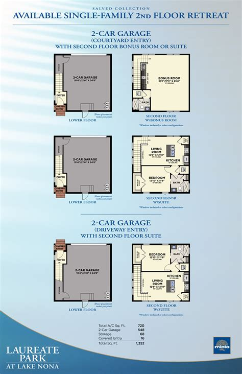 Minto Homes Floor Plans by Laureate Park At Lake Nona Hopkins New Homes In Orlando Minto