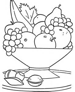 kid coloring pages printable fruits basket coloring page for didi